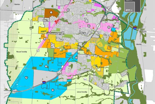 Grove City Land Use Framework Map