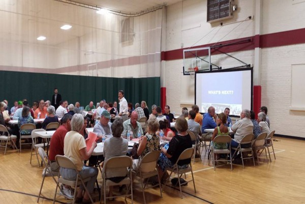 A Community Summit was held for the ENVISION Jefferson County project