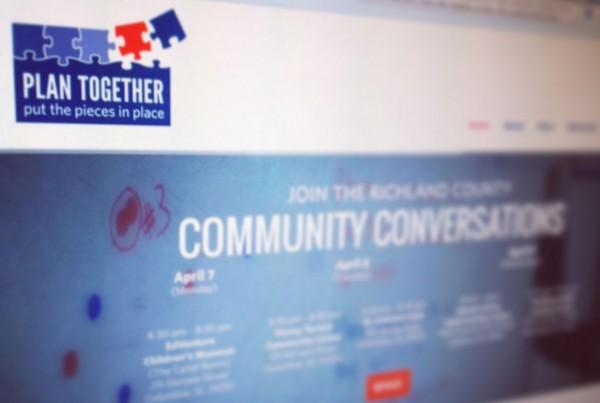 Screenshot of Plan Together Website