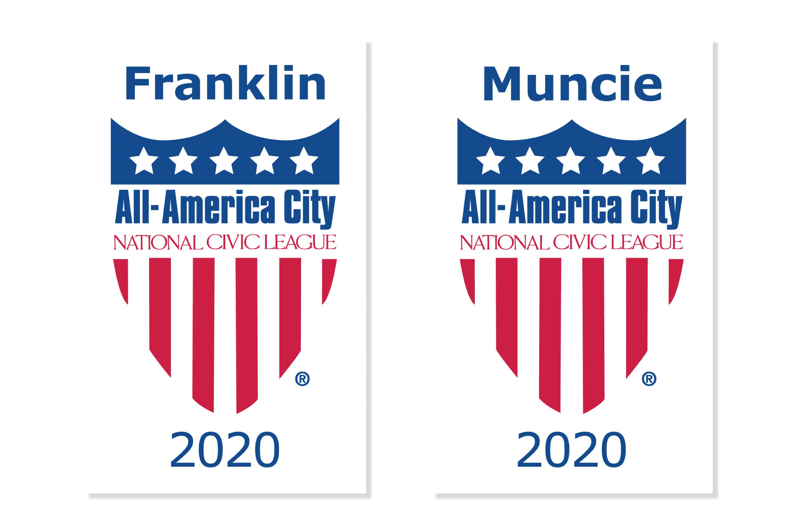 All-America City Awards presented by The National Civic League crest logo