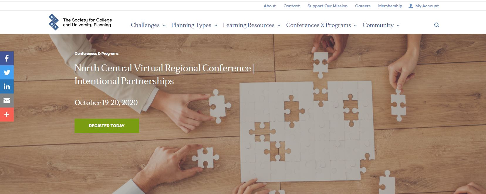 Visit the SCUP North Central Virtual Conference website for more details about the presentation session by Planning NEXT and Columbus State Community College