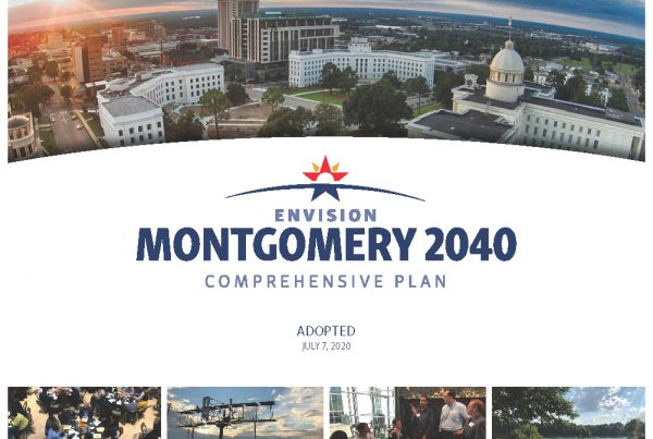 Envision Montgomery 2040 Comprehensive Plan cover page